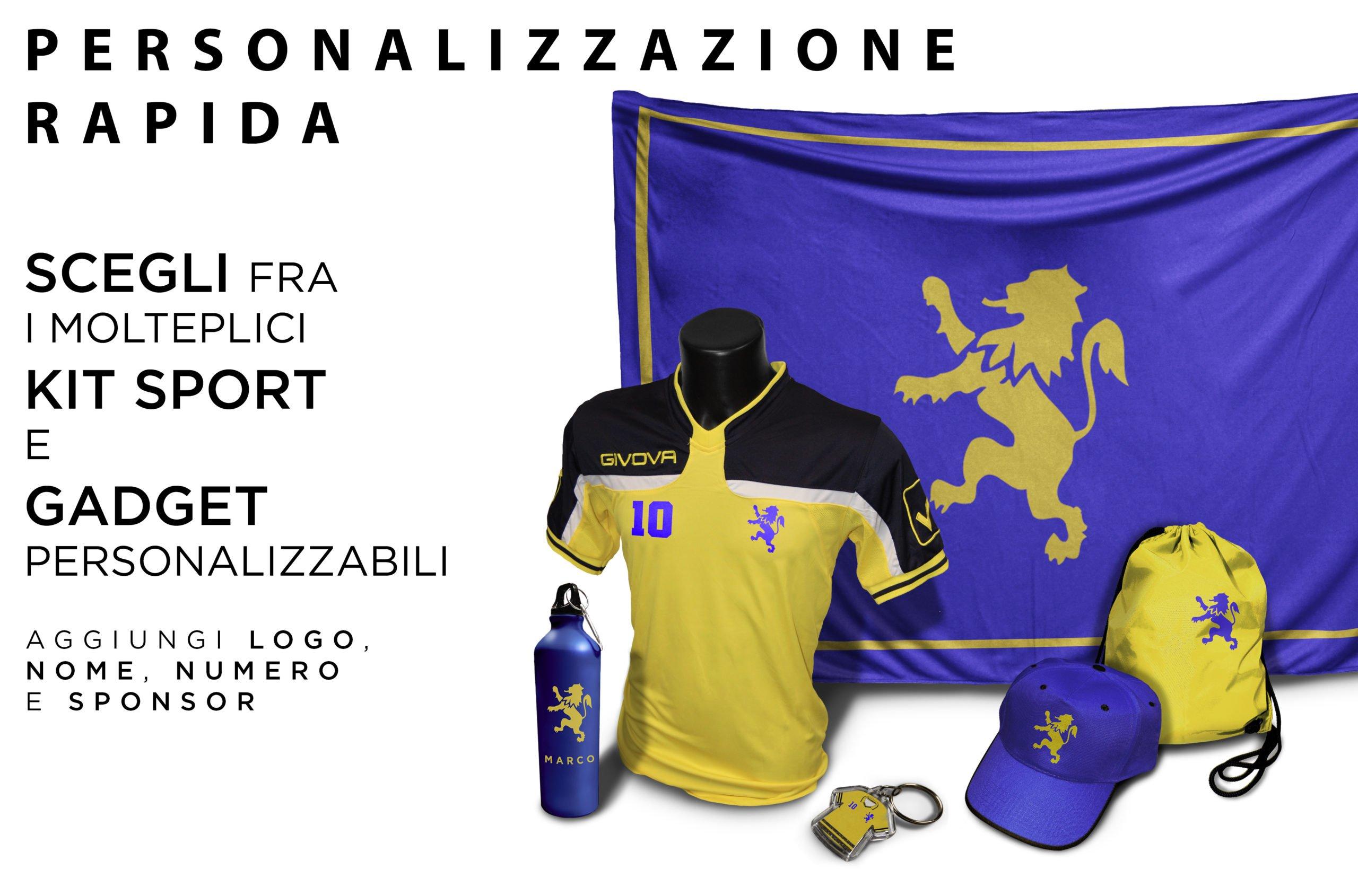 Personalizzazione kit e accessori