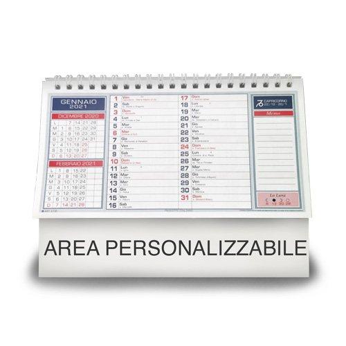 calendario da ufficio personalizzabile